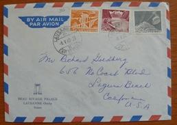 Cover - Envelope - Letter - Sobre De Suiza 1960 - Svizzera