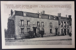 CPA Gravelotte Maison Où A Logé Napoleon III En 1870 - Francia