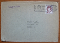 Cover - Envelope - Letter - Sobre De Suiza 1955 - Timbres Por Juventud
