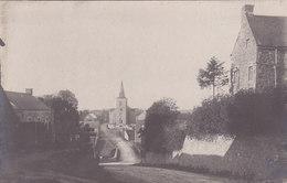 Schaltin - Carte-photo Centre Du Village, Animée - Hamois