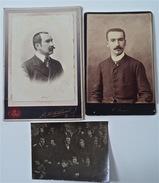 Louis Bertrand, 3 Photos, 1887-1901 - Célébrités