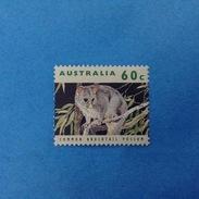 1992 AUSTRALIA FRANCOBOLLO USATO STAMP USED - Fauna Animali Possum 60 C