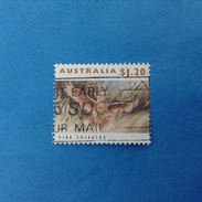 1993 AUSTRALIA FRANCOBOLLO USATO STAMP USED - Fauna Animali Uccelli 1,20 $