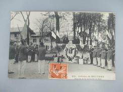 CPA MILITARIA COLONIE DE METTRAY REMISE DE LA MEDAILLE DE 1870 - Militaria