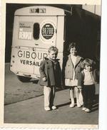Versailles Photo De 6.5/8.5 Vu Sur Camionnete Citroën  Avec Publicité Magasin Giboury  / Pub Bendix - Versailles