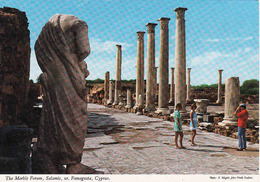 Cyprus, Famagusta, The Marble Forum, Salamis,  Mint - Chypre