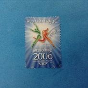 2006 AUSTRALIA FRANCOBOLLO USATO STAMP USED - Giochi Del Commonwealth 50 C