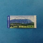 2002 AUSTRALIA FRANCOBOLLO USATO STAMP USED - Turismo Turistica  Tasmania 1,00 $