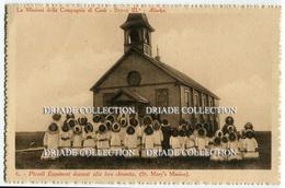 CARTOLINA MISSIONI DELLA COMPAGNIA DI GESù ESQUIMESI ALASKA  ST. MARY'S  MISSION - Cartoline
