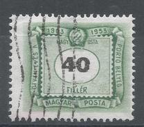 Hungary 1953. Scott #J221 (U) Numeral Of Value * - Postage Due