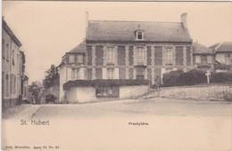 SAINT-HUBERT-PRESBYTERE-PASTORIJ-NELS-SERIE 74 NO33-CARTE VIERGE-RARE-VOYEZ LES 2 SCANS ! ! ! - Saint-Hubert
