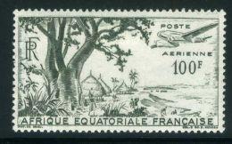 A E F  (  AERIEN ) : Y&T  N°  51  TIMBRE  NEUF  AVEC  TRACE  DE  CHARNIERE , A  VOIR . - A.E.F. (1936-1958)