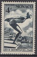 MONACO 1948 -  Y.T.  N° 323 -  NEUF* (lot253) - Nuovi