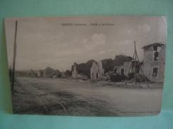 VERDUN BRAS 55 Bombardé 1914 1918 Maps MAPS POSTKARTE CARTOLINA - Verdun