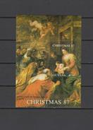 Guyana 1988  Paintings Rubens, Christmas S/s MNH