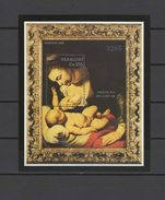 Paraguay 1988  Paintings Rubens S/s MNH