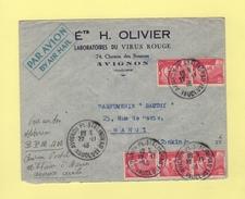 Marianne De Gandon - Destination Hanoi Tonkin - 22-11-1946 - Arrivee BPM 403 - 1921-1960: Moderne