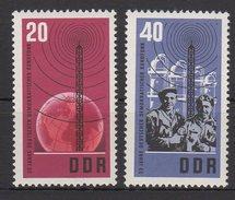 DDR / 100 Jahre Internationale Fernmeldeunion / MiNr. 1113, 1114