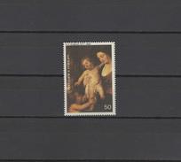 Sao Tome E Principe (St. Thomas & Prince) 1977 Paintings Rubens, Christmas Stamp MNH