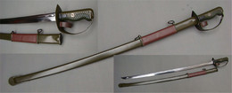 Chinese Military Type 65 Sword Cavalry Saber Schwert épée - Armes Blanches