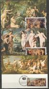 Sao Tome E Principe (St. Thomas & Prince) 1977 Paintings Rubens Set Of 6 Maximumcards