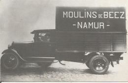 SANS INTITULE. -  (REPRO DU CAMION DES MOULINS DE BEEZ.  (scan Verso) - Namur
