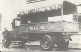 SANS INTITULE. -  (REPRO DU CAMION  J. THYS NAMUR NAMUR BIERES VANDENHEUVEL).  (scan Verso) - Namur