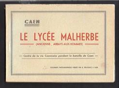 Régionalisme / Livret  De 24 Documents Photographiques Publiés Par R. Delasalle Du Lycée Malherbe à Caen - Normandie