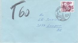 Brief Von Glattfelden Nach Laupen, Austaxiert (br1078) - Schweiz