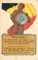 Belgique - Ligue Nationale Pour La Défense Du Franc - Par G. Devresse - Belgio