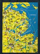 (D342) AK Ostsee - Landkarte - Eckernförde