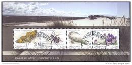 DENEMARKEN 2007 Blok Deense Natuur GB-USED