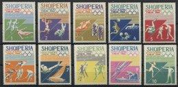 ALBANIA, TOKYO OLYMPIC GAMES 1964, NH SET - Albanien