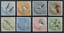 ALBANIA, SOMMER OLYMPIC GAMES IN MEXICO CITY 1968, NH SET - Albanie