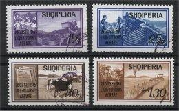 ALBANIA, 25TH YEARS ANNIVERSARY OF THE AGRARRIAN REFORM 1970, U SET - Albanie