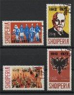 ALBANIA, 60th DAY ANNIVERSARY OF THE ALBANIAN INDEPENDENCE 1942, U SET - Albania