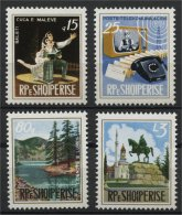 ALBANIA, CULTURE AND TECHNIC 1973, NH SET - Albanie