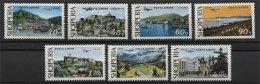 ALBANIA, PICTURE OF ALBANIA 1975, AIRMAIL, NH SET - Albanie