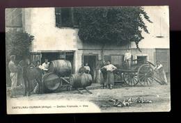 BTE09  En Achat Immédiat, Rare Carte De Castelnau Durban, Vins Dedieu. Quelques Défauts - Autres Communes