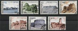 ALBANIA, FORTTRESSES 1976, U SET - Albanie