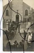Carte Photo Animée Identifiée. CPA. D61. Alençon . Funérailles, Enterrement. Cortège,couronnes De Fleurs. Soldat - Fotografie