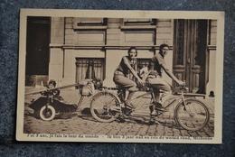 911/ J'ai Trois Ans, Je Fais Le Tour Du Monde- - Cartes Postales