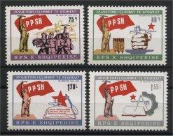 ALBANIA, 35th YEARS LIBERATION ANNIVERSARY 1979, NH SET - Albania