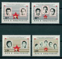 ALBANIA, FREEDOM FIGHTERS III 1980, NH SET - Albania