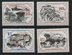 ALBANIA, ALBANIAN ARCHITECTURE 1985, NH SET - Albania