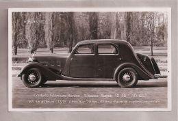 Carte Photo - Automobile (Société Ariès) - Conduite Intérieure Berline 4 Places 10-50 Ariès - Voitures De Tourisme