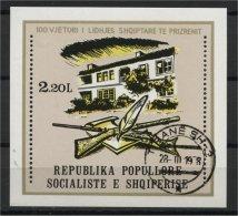 ALBANIA, 100th YEARS ANNIVERSARY OF LEAGUE OF PRIZREN 1978, U BLOC - Albanie