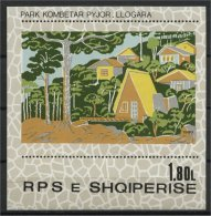 ALBANIA, NATIONAL PARC 1980 NH BLOC - Albanie