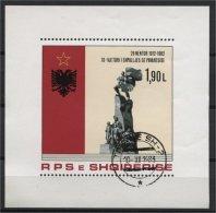 ALBANIA, 70th YEAR ANNIVERSARY OF THE INDEPENDENCE 1982, U BLOC - Albanie