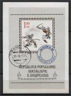ALBANIA, INTERNATIONAL STAMPS EXPOSITION 1984, U BLOC - Albanie